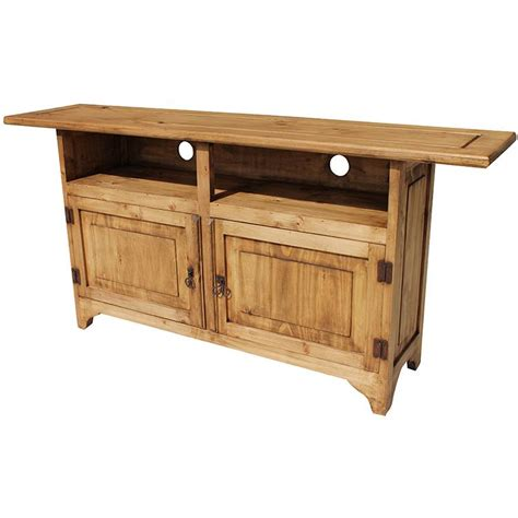 rustic tv stand rustic pine collection graciela tv stand com18