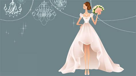 Wedding Gown Background by 21 Wedding Backgrounds Wallpapers Images Freecreatives