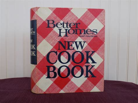 better homes and gardens new cook book vintage cookbook