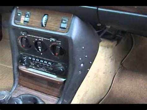 Mercedes Interior Cleaner by 1983 Mercedes 240d Interior Cleaning
