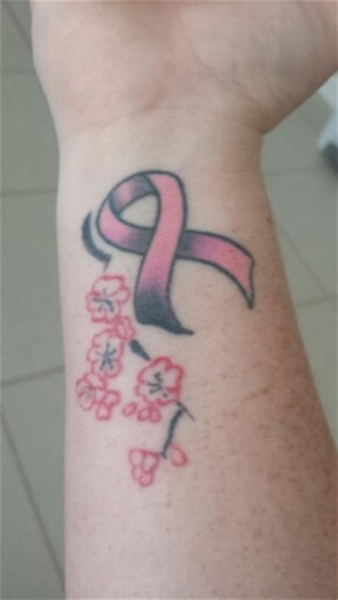 breast cancer tattoos on wrist 454 best images about pink on the ribbon