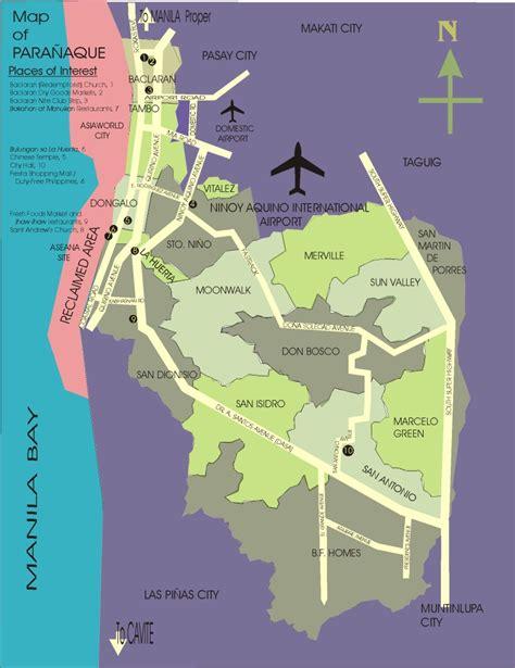 map of paranaque city paranaque map