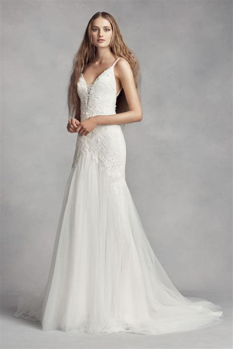 Wang Wedding Gowns by White By Vera Wang Sleeve Lace Wedding Dress Style