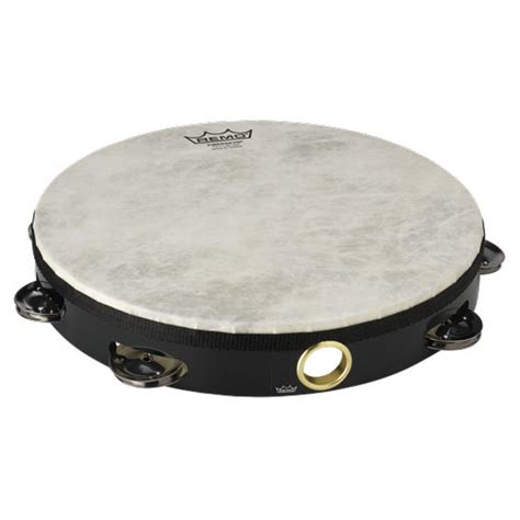 Tambourine Remo remo 10 quot single row tambourine black tambourines accessories steve weiss