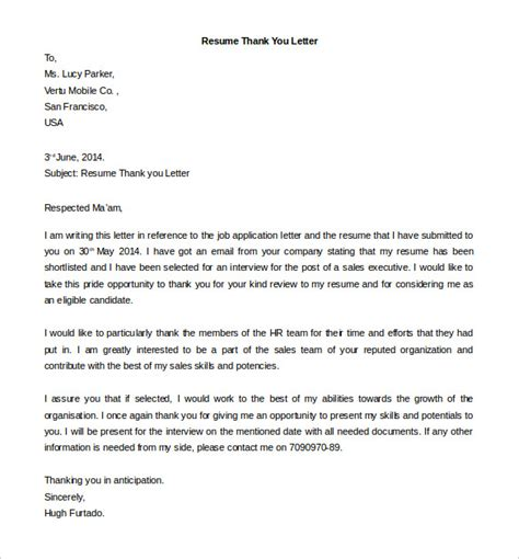 Thank You Letter For Result Free Thank You Letter Templates 40 Free Word Pdf Documents Free Premium Templates