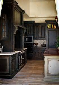 Black Wood Kitchen Cabinets 17 Best Ideas About Black Kitchen Cabinets On Kitchens With Cabinets Navy
