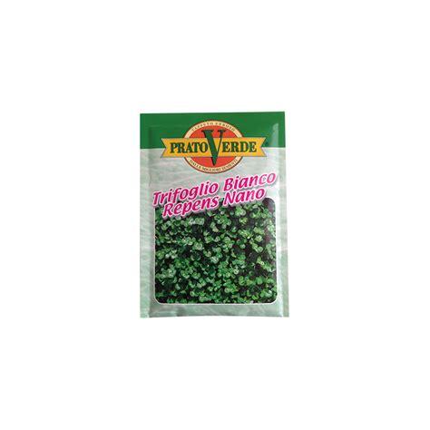 prato a tappeto trifoglio nano 100 gr per prati erbosi