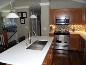 Split Level Kitchen Designs Bi Level Kitchen Renovation For The Home