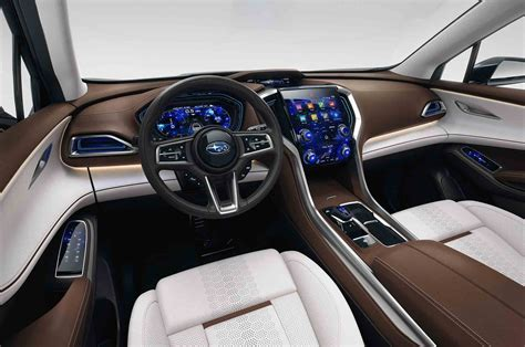 subaru suv concept interior subaru ascent concept previews upcoming three row