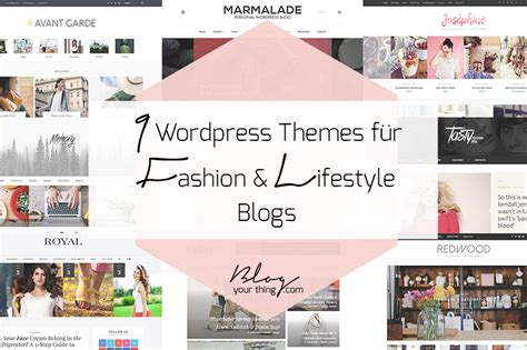 wordpress themes lifestyle blog 9 stylische wordpress themes nicht nur f 252 r lifestyle