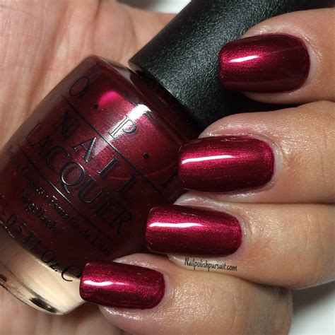 Blackberry Manicure by Classics Bogot 225 Blackberry By Opi The Polished Pursuit