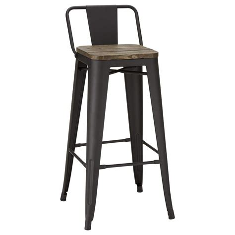 Rustic Metal Counter Stools by Rustic Wood And Metal Bar Stool Bar Counter Stools