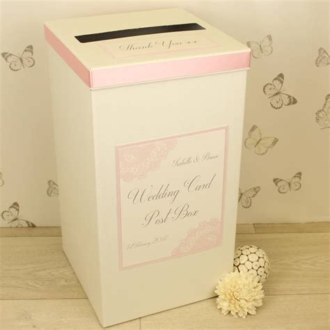 Wedding Gift Post Box by Personalised Wedding Gift Post Box Imbusy For