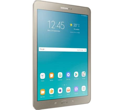 9 Samsung Tablet Buy Samsung Galaxy Tab S2 9 7 Tablet 32 Gb Gold Free Delivery Currys