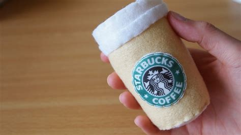 How To Make It So Cant Search For You On How To Make A Starbucks Coffee Plushie