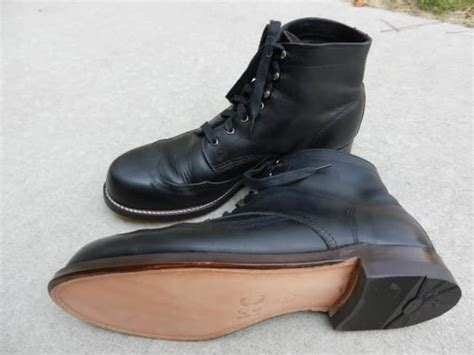 wolverine 1000 boots resoled with leather sole yelp