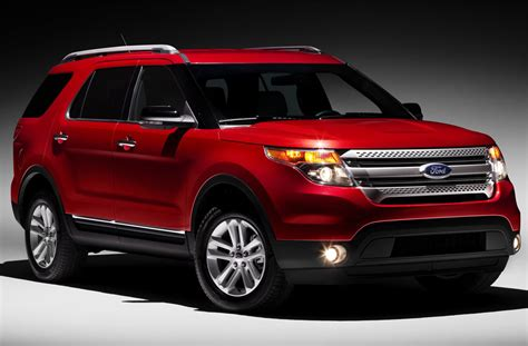 2011 Ford Explorer by 2011 Ford Explorer Unveiled