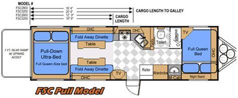 Rv Camper Floor Plans used 2007 warrior mfg weekend warrior wide body fsc 3200