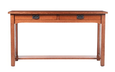 shaker sofa table oregon shaker sofa table s real wood furniture