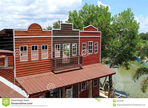 cowboy house house in the style of a cowboy stock illustration image 60205235