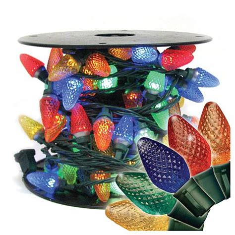 multi color pearl christmas lights faceted multi colored led lights 100 6913295 hsn