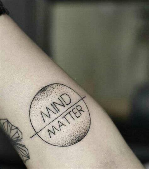 mind over matter tattoos my mind is everything mind matter my