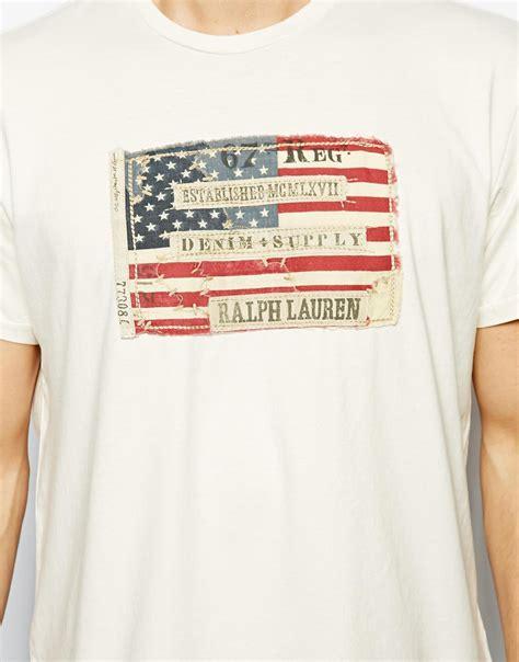 T Shirt Supply lyst ralph denim supply ralph tshirt with