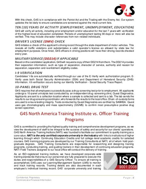 Security Officer License by G4s Security Officer And Benefits