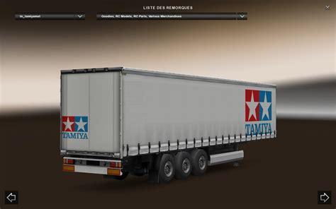 Tamiya Trailer tamiya trailer standalone v1 0 trailer truck