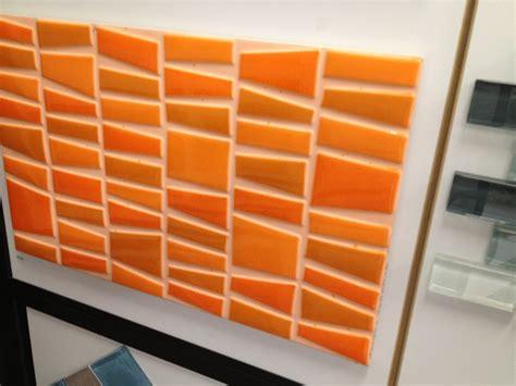 orange backsplash tile 17 best images about material and color on