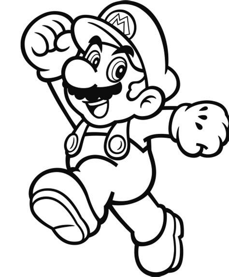 coloring page mario official mario coloring pages gonintendo