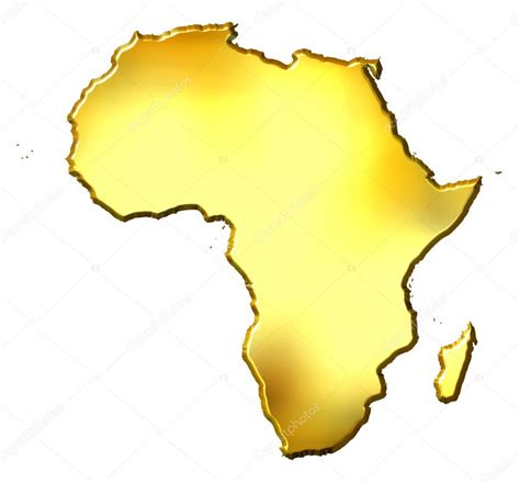 3d africa map vector afrika golden 3d karte stockfoto 169 georgios 1395499