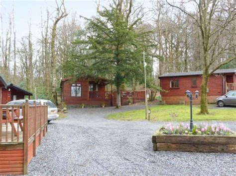 Tree Cabin Holidays by Yew Tree Log Cabin White Cross Bay Lake District
