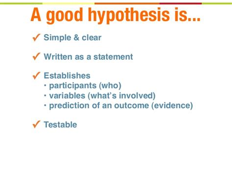 hypothesis template writing kick hypotheses lean ux meetup las vegas july