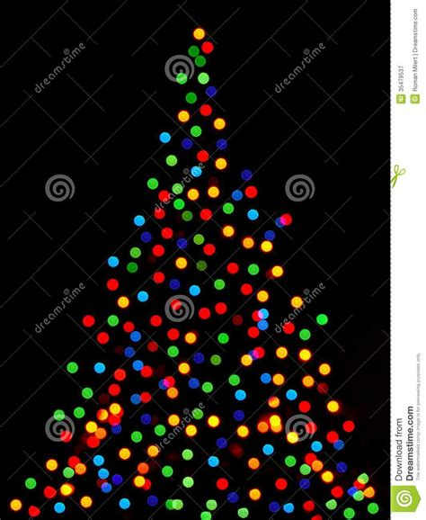 christma tree lights tree lights royalty free stock photography