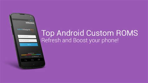 custom android roms top android custom roms