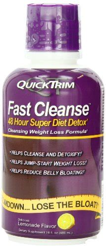 Quicktrim Fast Cleanse 48 Hour Diet Detox 480ml Review by Dietzon Weight Loss Diet