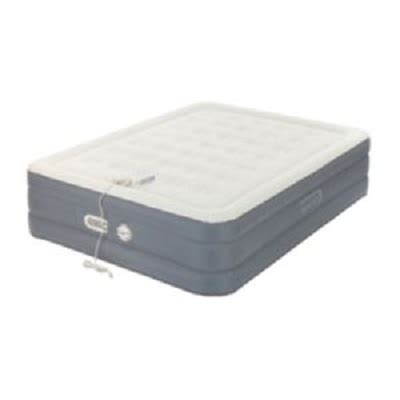 aerobed size 18 quot antimicrobial comfort adjust air mattress with built in