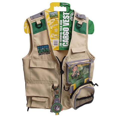 backyard safari vest backyard safari cargo vest