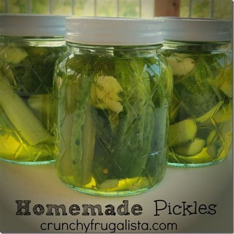 Handmade Pickles - 17 best images about dill pickles on