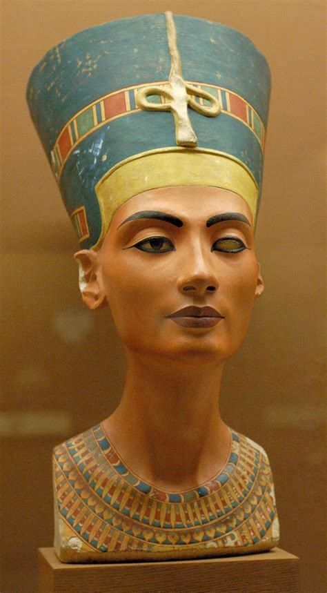 Imagenes Egipcias Nefertiti | busto de nefertiti 1550 1295 a c autor tutmose arte