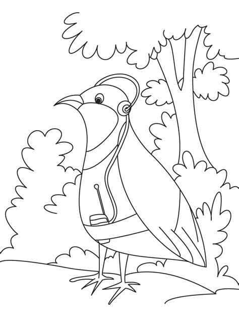 coloring pages about listening coloring pages