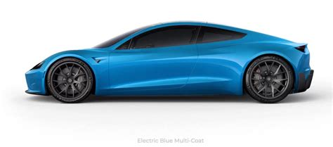 tesla supercar tesla roadster paint colors imagined in new interactive