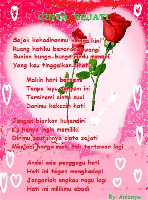 Kaos Tangisan Bahagia Kata Kata by Puisi Cinta By Anisayu Kata2 Bijak Puisi Cinta