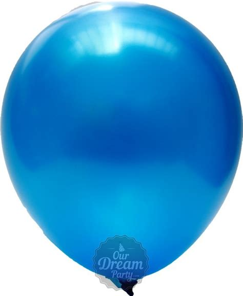 balon metalik biru tua ourdrearty