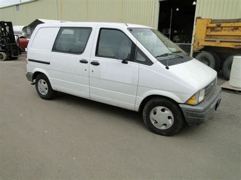 find used 1996 ford aerostar work van 105000 miles cheap used in loris south carolina united purchase used 1996 ford aerostar cargo van in salem oregon united states