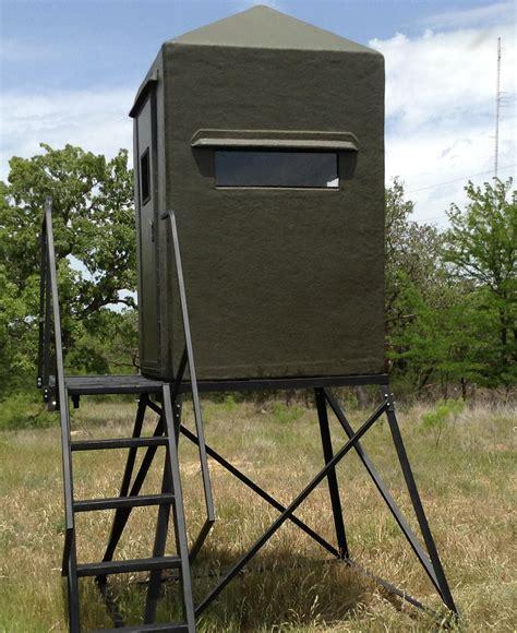 Used Fiberglass Deer Blinds For Sale deer stands fiberglass blinds