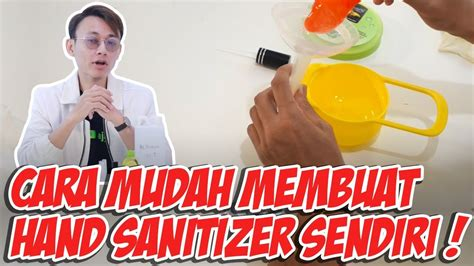 diy hand sanitizer  membuat hand sanitizer sendiri youtube