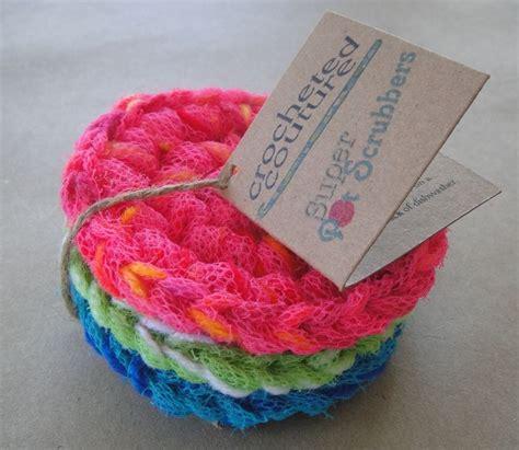 Kitchen Scrubbies by Crochet Pot Scrubber