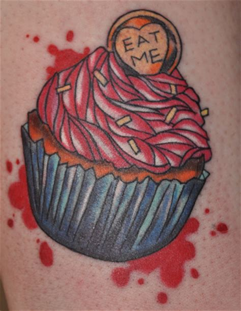 eat me tattoo eat me by glor fin on deviantart